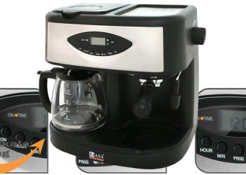 Purchase specifications of NASA Electric NS 509 three-function coffee maker